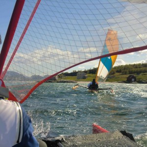 Kayak à Voile En Norvège Troms