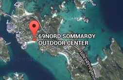 map 69NORD sommaroy outdoor center
