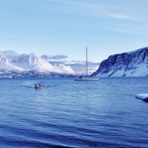 Snowshoe and sailboat touring, Lyngen Alps