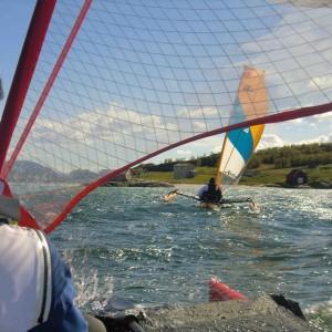 Vacances kayak à voile et randonnée vers Tromso