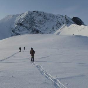 Snowshoes trips in Lyngen Alps