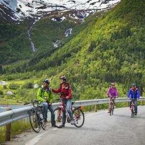 Louer Vélo à Kvaloya