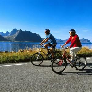 Visiter la Norvège en vélo avec 69 NORD