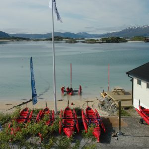 Centre de location de kayak Hobie : 69Nord Sommaroy Outdoor Center