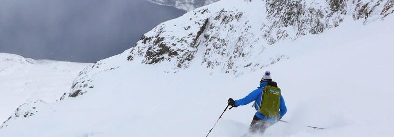 Ski rando Norvege