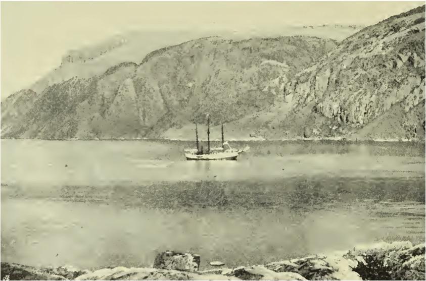 Fram Museum, Fram second expedition, second winter harbor