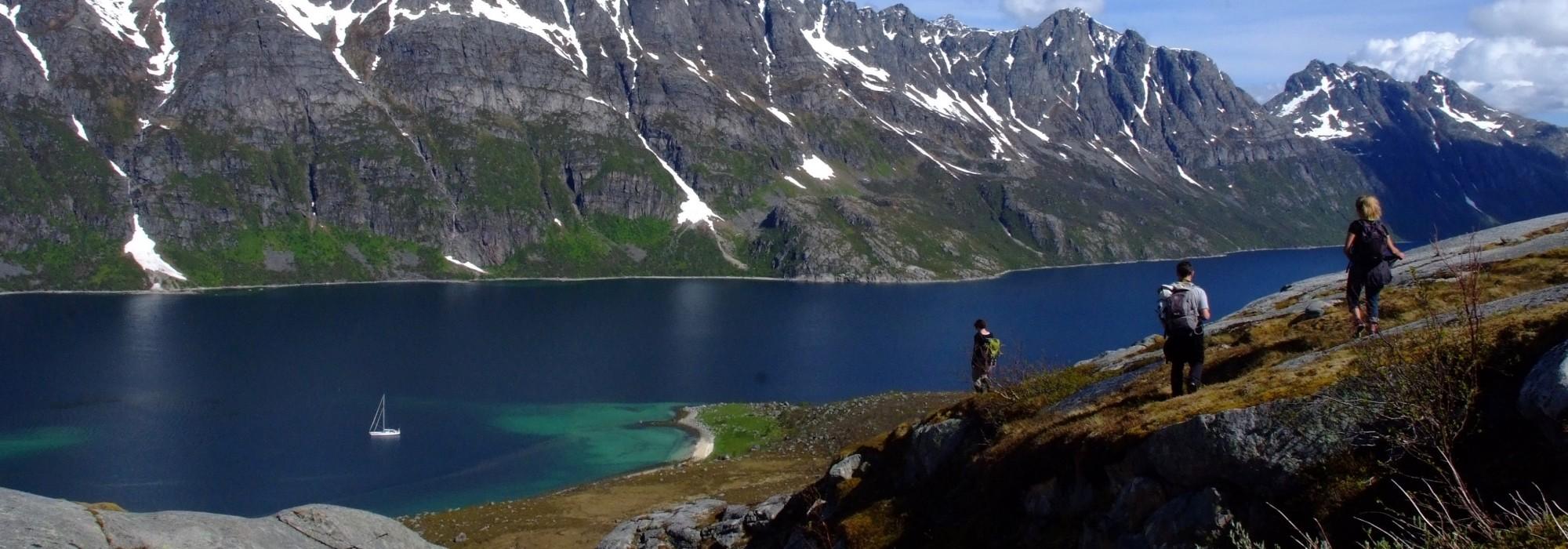 Séjour voilier randonnée Nord Norvège