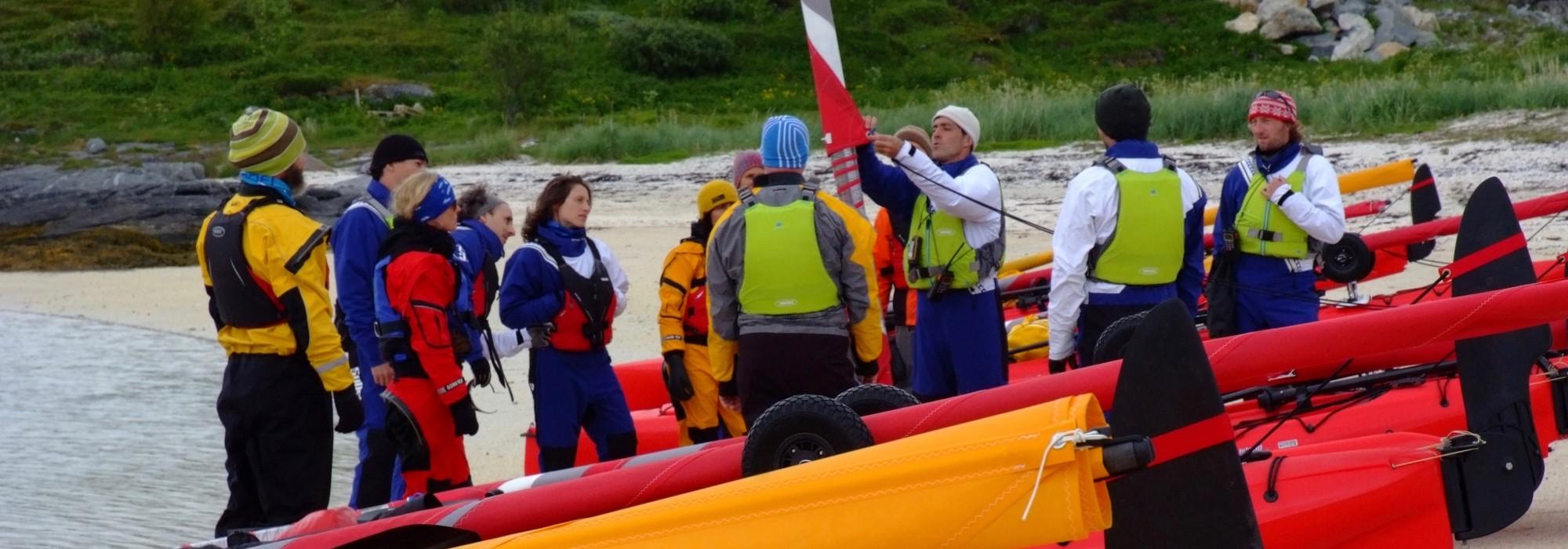hobie kayak à louer à Sommaroy