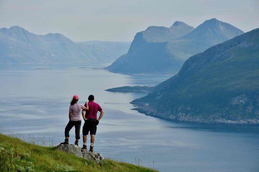 Randonner en Norvège du Nord vers Tromso