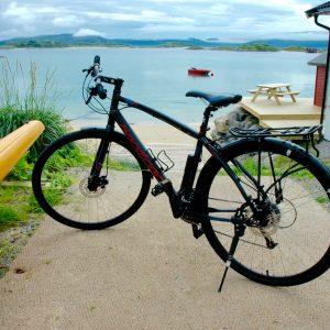 Visiter Kvaloya en vélo à louer au 69 NORD Outddor Center Sommaroy Norvège