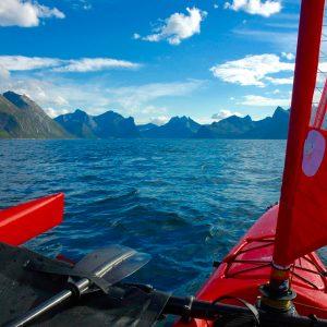 Sortie en kayak à Kvaloya avec 69 NORD