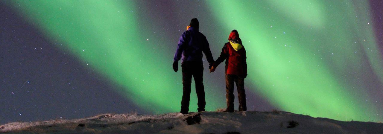 voir les aurores boreales a tromso