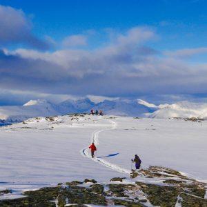 Faire des raquettes en Norvège à Tromso avec 69NORD