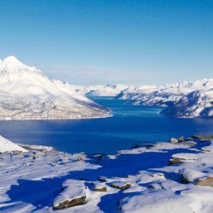 Randonnée en raquettes dans le Nord Norvège, Tromso