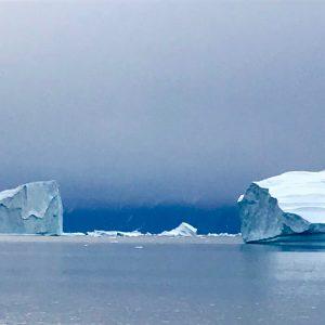 Où voir des iceberg en voilier? 69 NORD