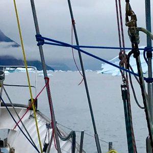 Iceberg à Scorebysund lors d'une expédition sur le Southern Star